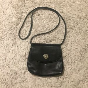 Fossil Small Black Crossbody
